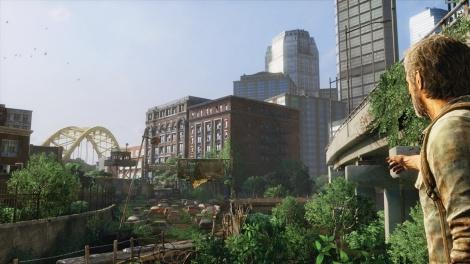 The Last of Us- Joel points out bridge